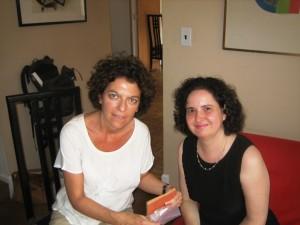 Emmanuelle Danblon et Olivia Mattis-Perelman (New York, Long Island, Hintington)