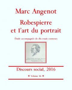 Marc Angenot, Robespierre et l'art du portrait