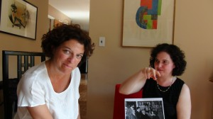 Emmanuelle Danblon et Olivia Mattis-Perelman (New York, Long Island, Huntington)