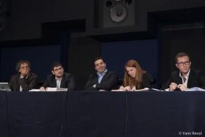 Pierre-Henri Tavoillot, Rudy Reichstadt, Raphaël Haddad, Aurélie Ledoux et Loïc Nicolas